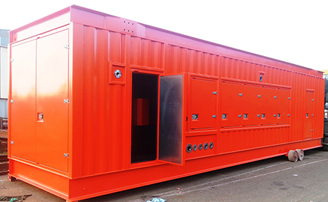 container orange small